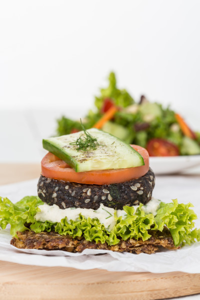 Raw Vegan Essentially Dubai Burger