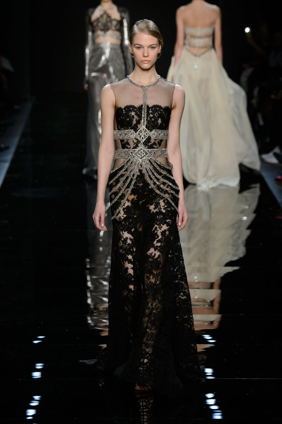 Reem Acra's Diamanté Dream Collection for Fall/Winter 2016