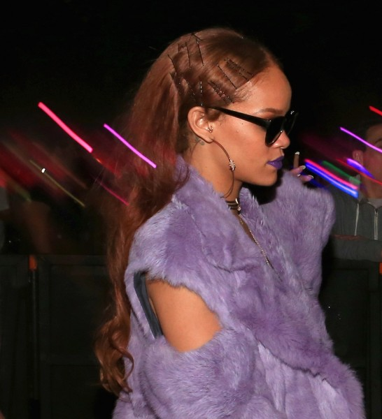 Rihanna Hair Coachella April 2015