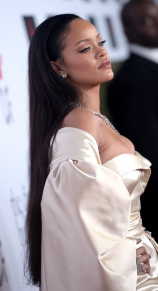 Rihanna Hair Diamond Ball 2015