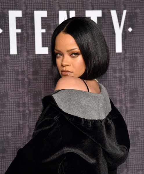 Rihanna Hair Fenty Puma Party 2016