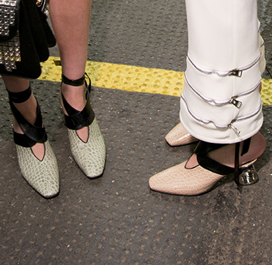 The 3 Most Incredible Shoes to Know from LFW Fall/Winter 2016
