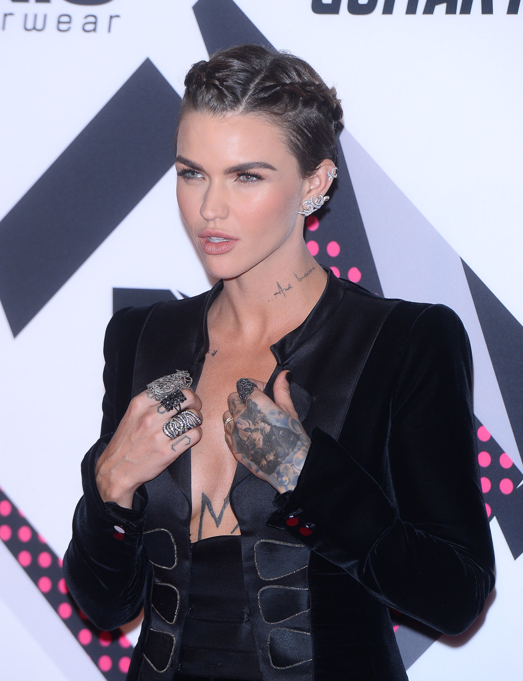 Ruby Rose's Ear Jewelry Game Is on Point