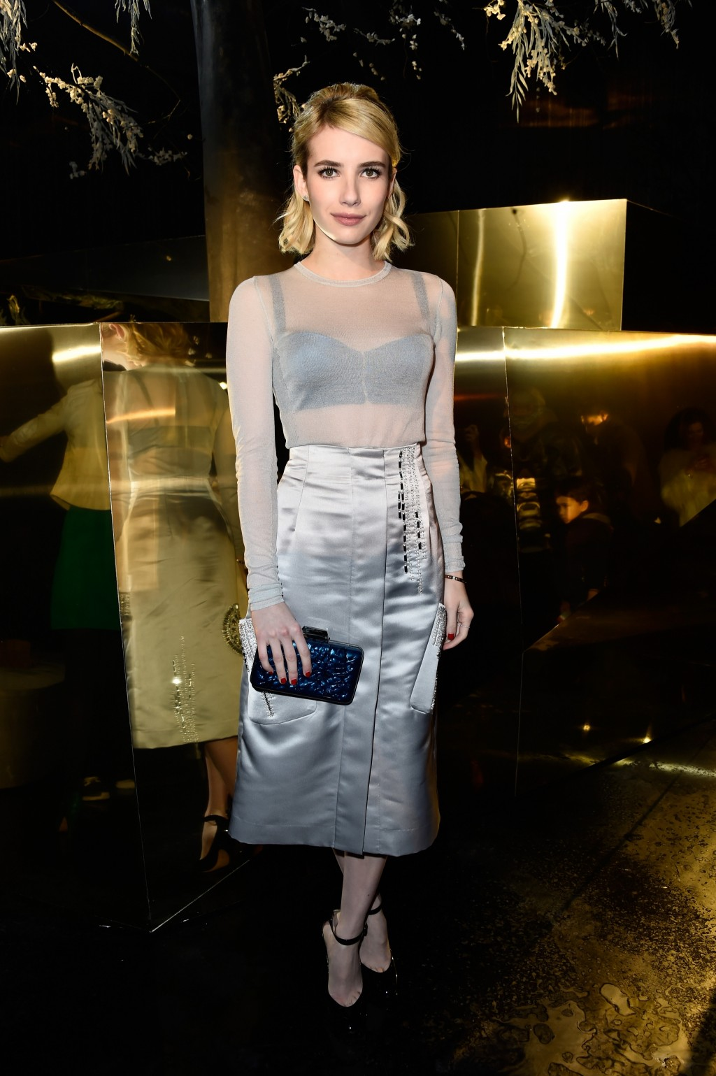 Emma Roberts in H&M at the H&M Fall/Winter 2016 show