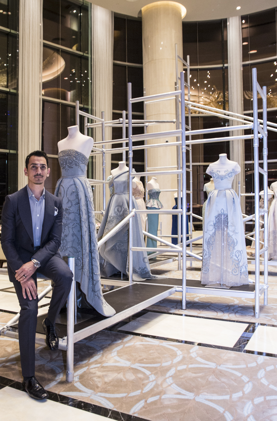 Couture in the Capital: Rami Al Ali Showcases Collection in Abu Dhabi