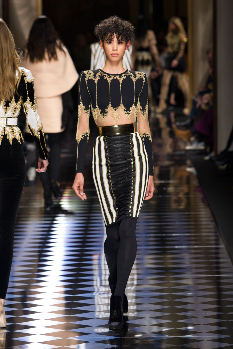 The Balmain Army Softens up for Fall/Winter 2016