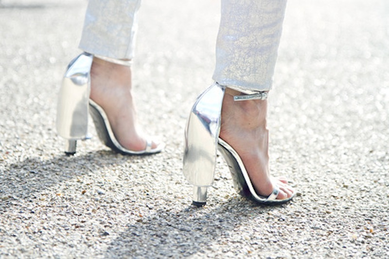 The Only Shoe Hue You Need This Season Is Silver