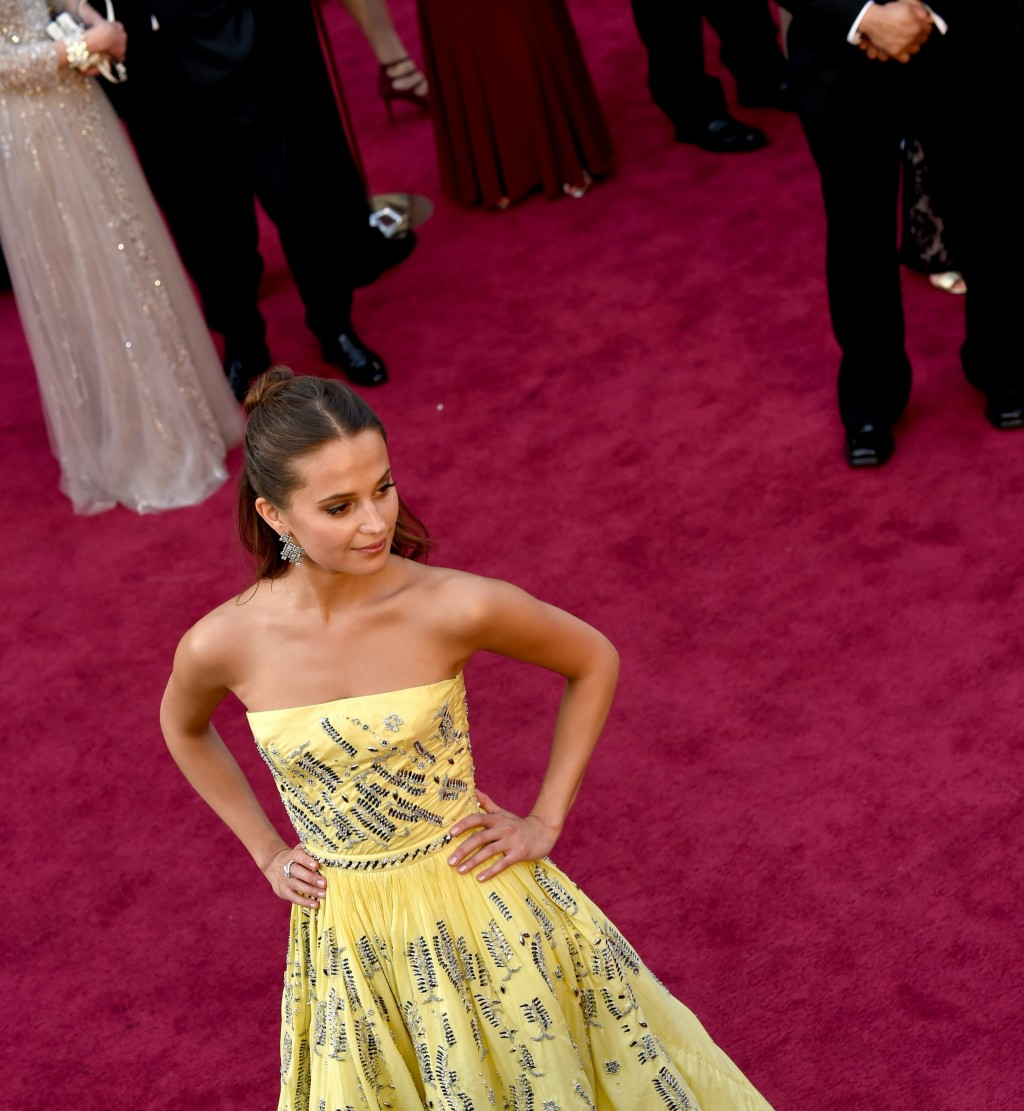 6 Times Alicia Vikander Nailed the Princess Look on the Red Carpet