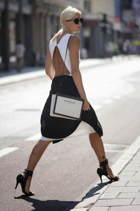 No Shades of Gray Here - Monochrome Is Spring's Coolest Accessory Trend