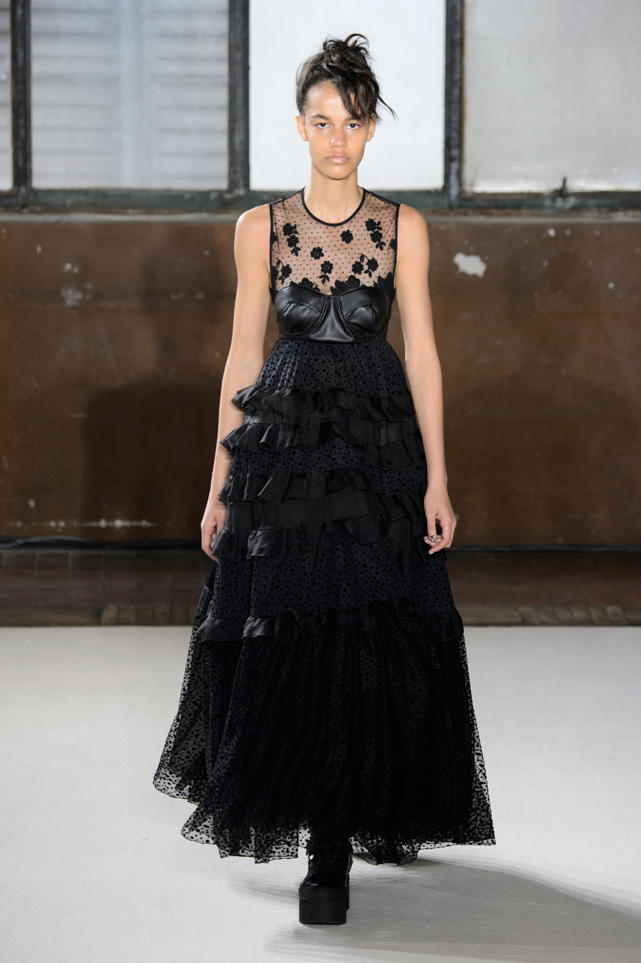 Giamba Balances Delicacy and Darkness for Fall/Winter 2016