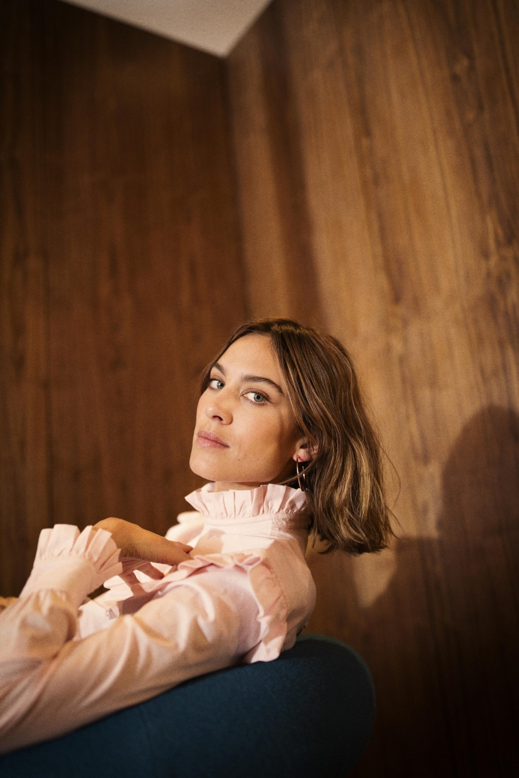 Alexa Chung Talks about Personal Style and Her M&S Collaboration
