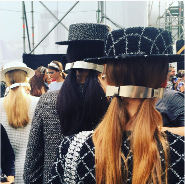 Chanel Pigtails SS16