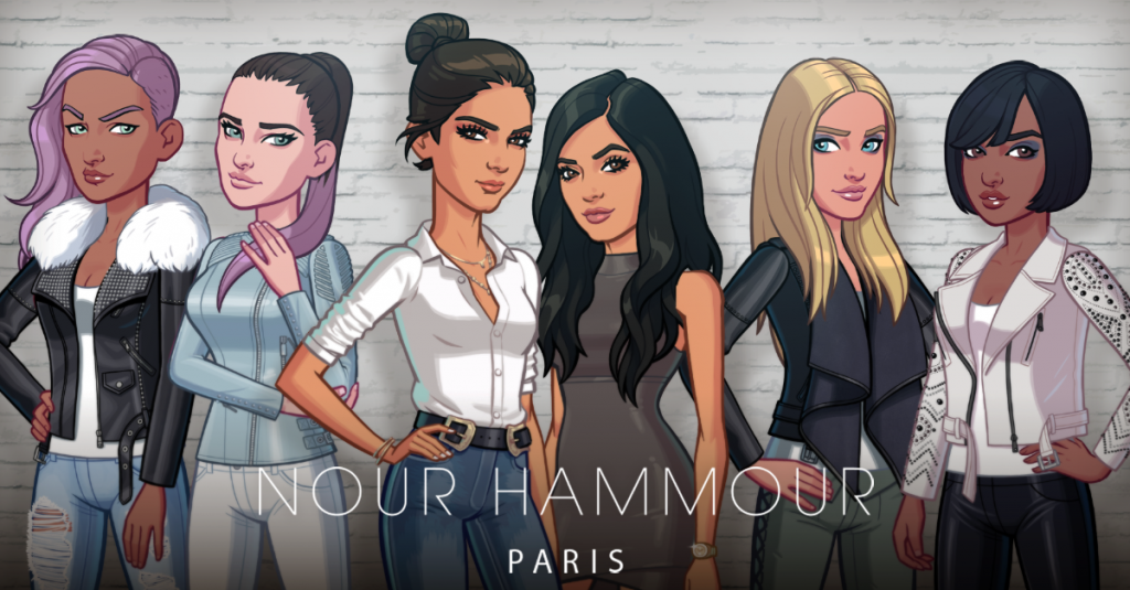 Nour Hammour Is Now Part of the Kendall & Kylie Game – Watch the Video!