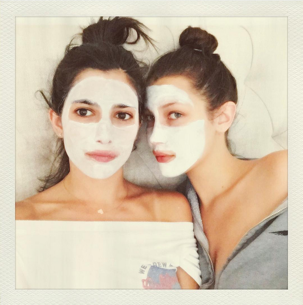 Bella Hadid Celebrity Face Mask