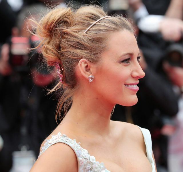 Blake Lively Cannes Hair 2016 Up-do