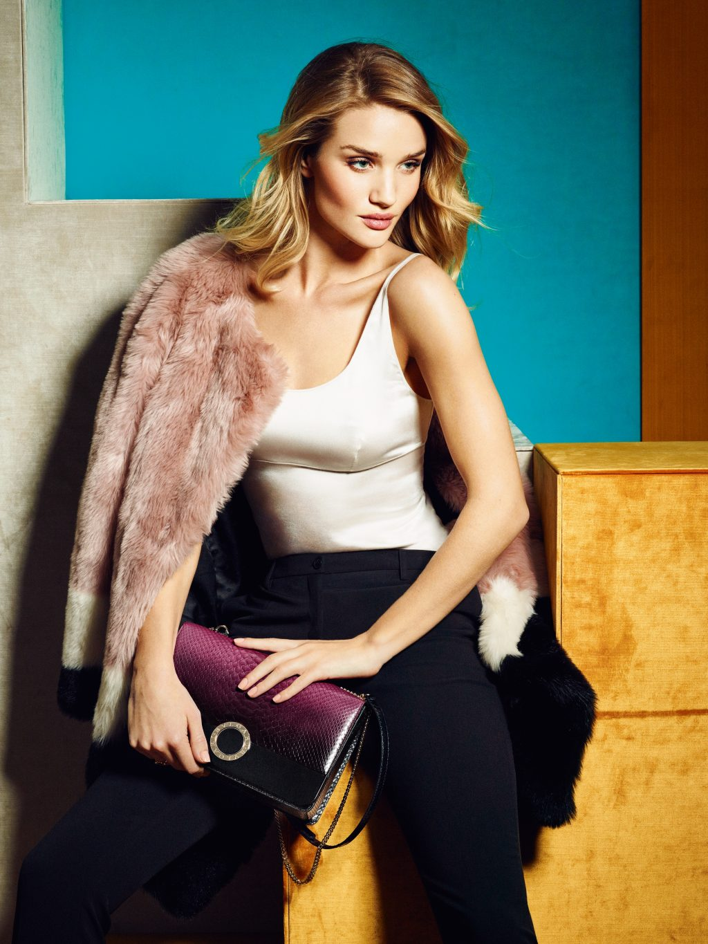 Rosie Huntington-Whiteley on Being the New Face of Bulgari