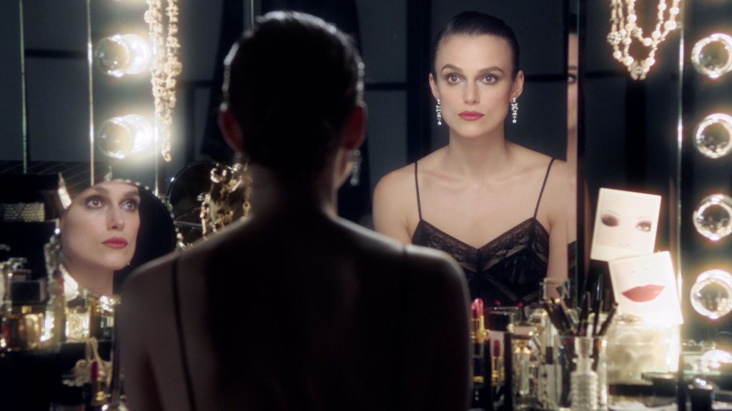 Watch Keira Knightley Get into Character with Chanel Makeup