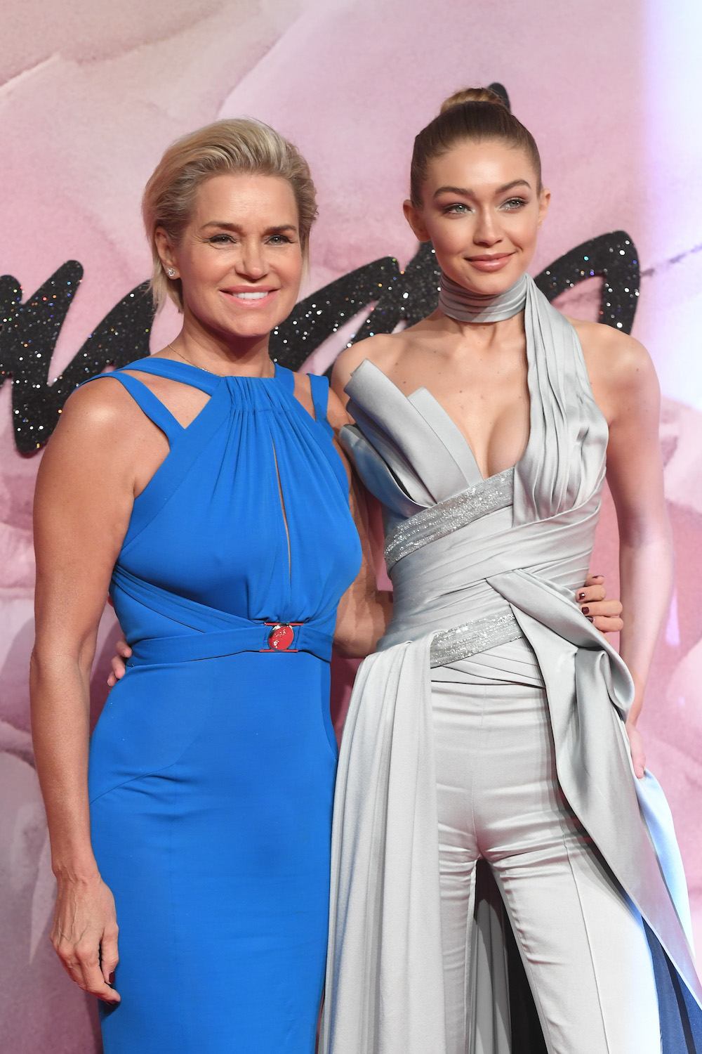 Gigi Hadid and Yolanda Hadid