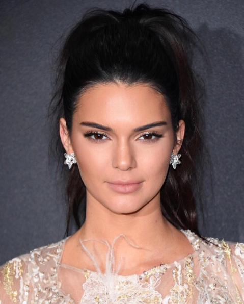Kendall Jenner Cannes Pony Hair
