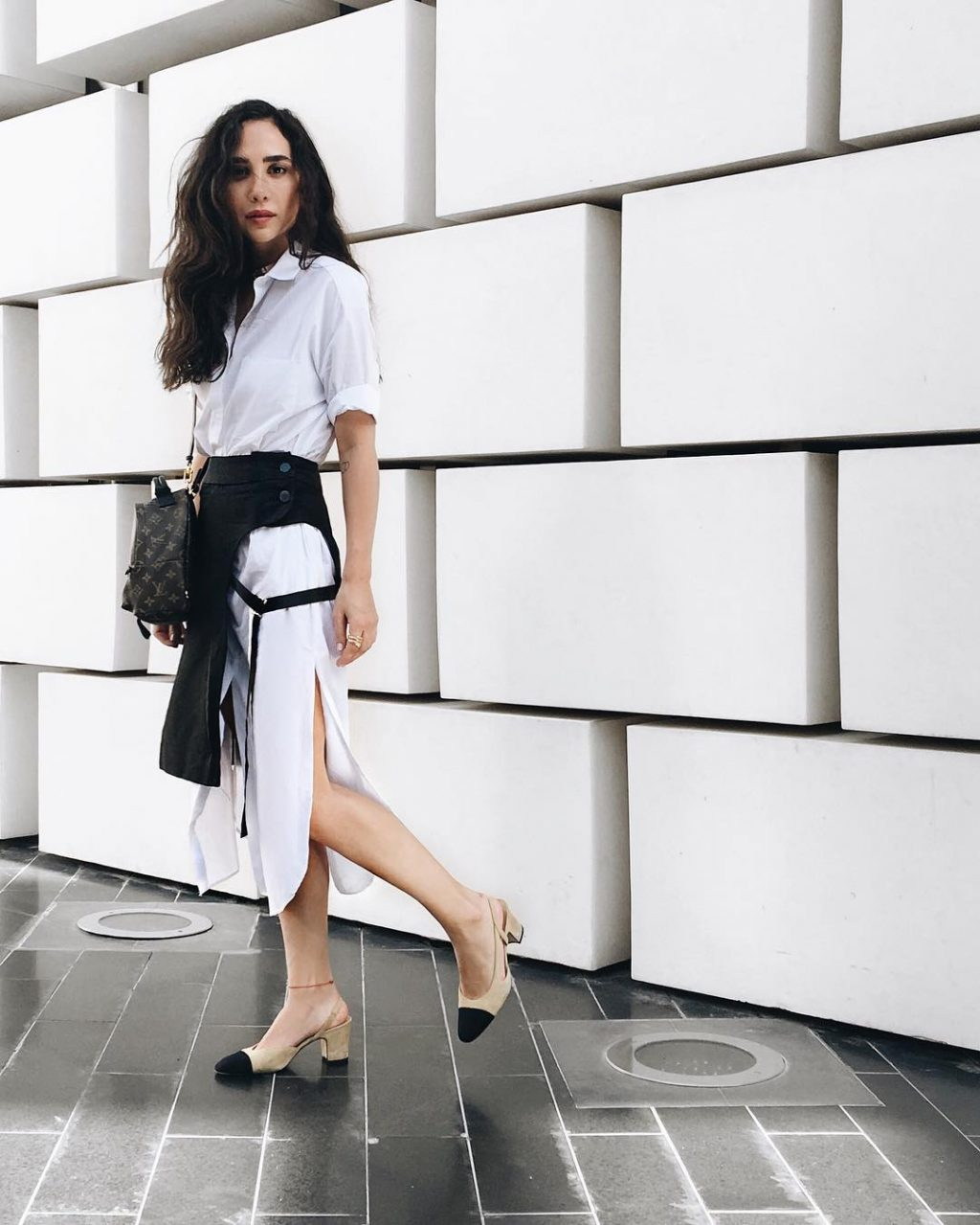 Dana Hourani and Nathalie Fanj Are Making a Case for the Wrap Skirt
