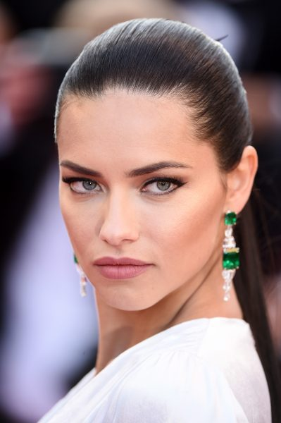 Adriana Lima Best Beauty Looks Cannes