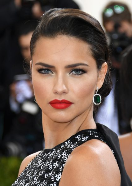 Adriana Lima Best Beauty Looks Costume Institute Gala