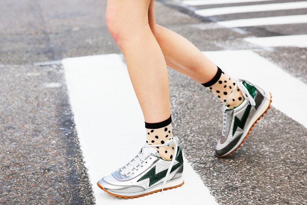 7 of the Coolest Socks-and-Sneakers Combos to Shop Now
