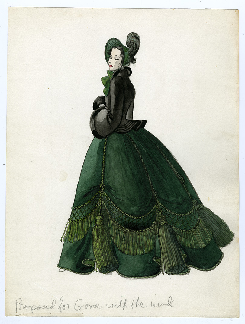 Muriel King Gone with the Wind costume design