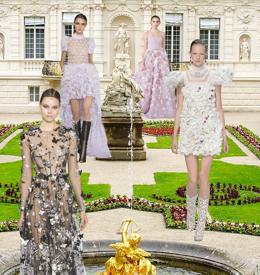 A Midsummer Day's Dream: Runway Couture Looks Perfect for a Garden Wedding