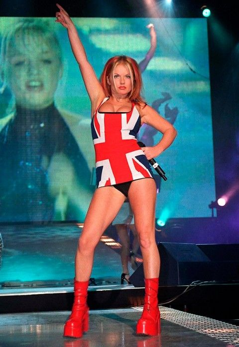 Ginger Spice Daily Mail