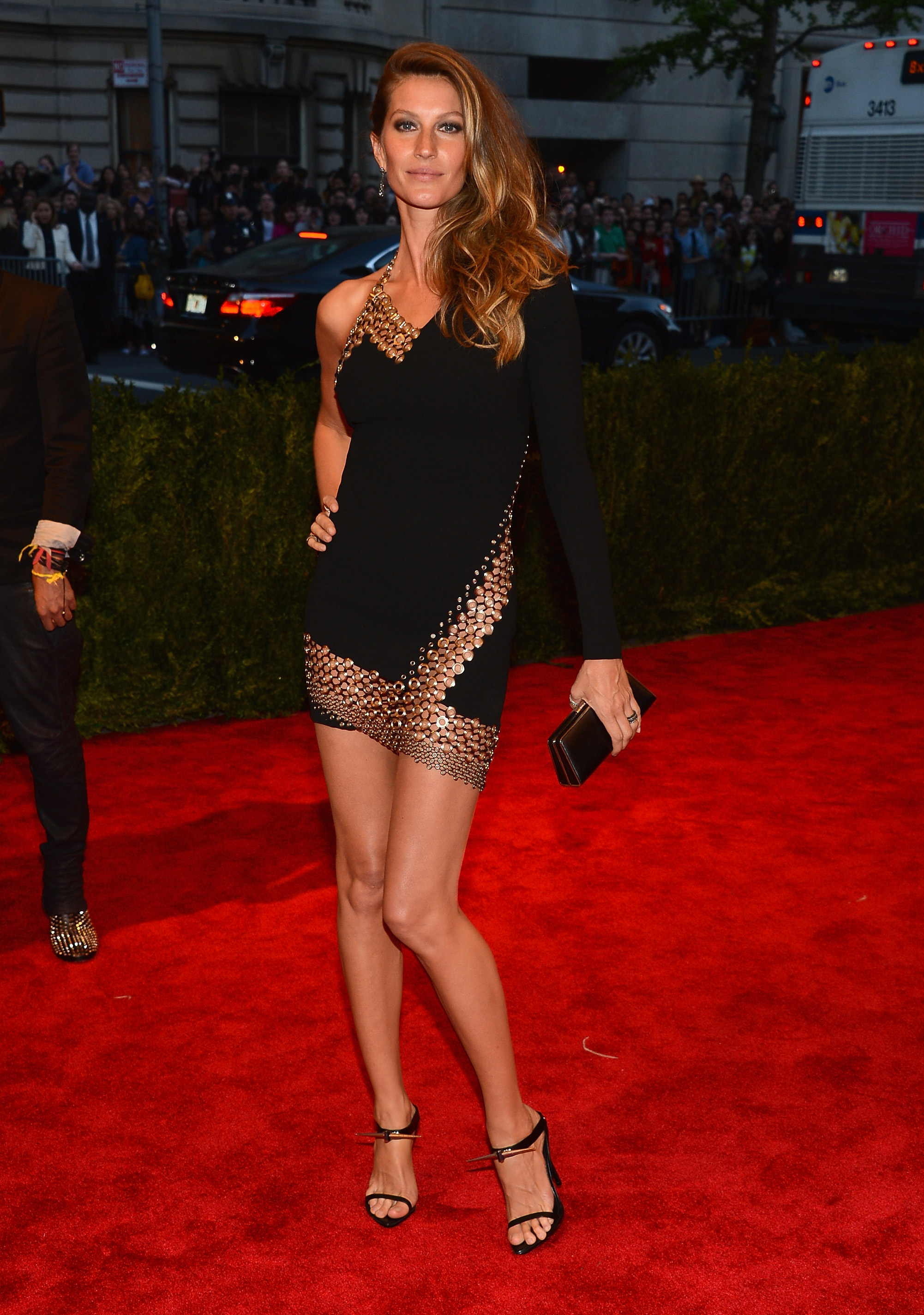 "Gisele Bundchen at ""PUNK: Chaos To Couture"" Costume Institute Gala"
