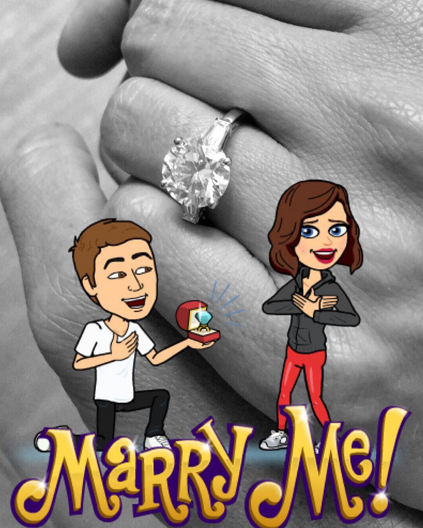 5 Snapchat Stickers Miranda Kerr Should Use to Celebrate Her Engagement