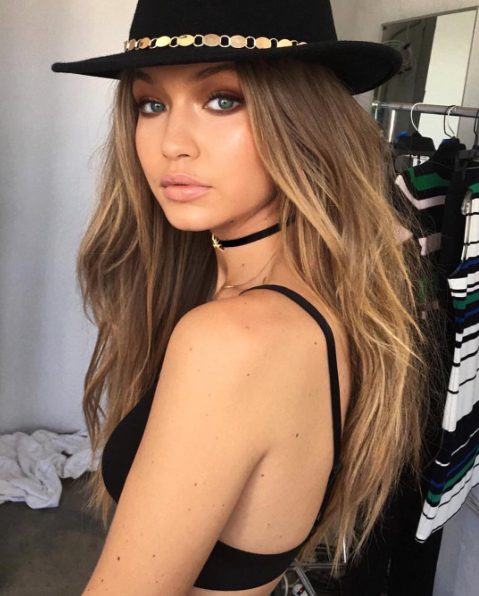 keratosis pilaris treatment Gigi Hadid