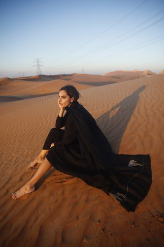 Arwa Al Banawi Showcases Her Saudi Heritage for Fall/Winter 2016