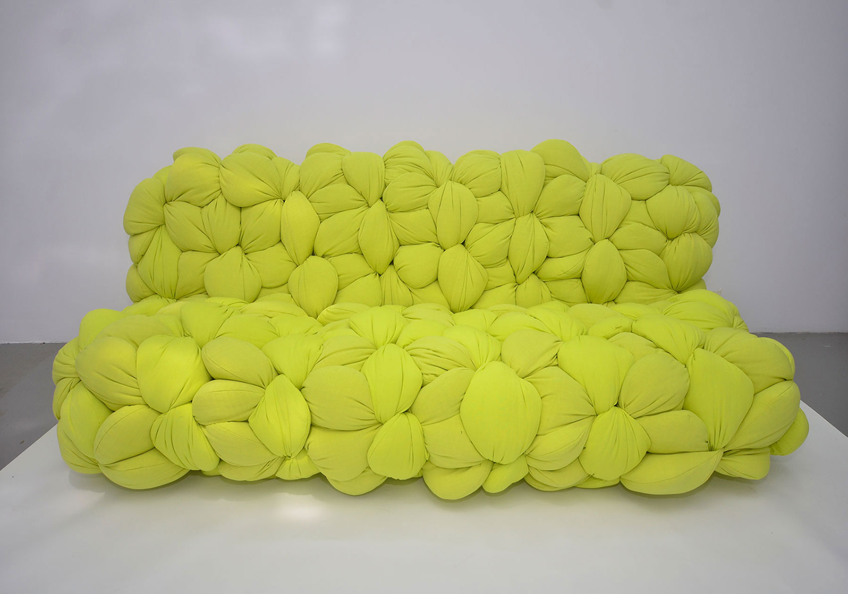 Braided sofa by Latifa Saeed