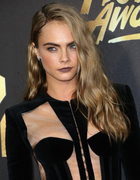Cara Delevingne Best Beauty Look 2016 MTV Movie Awards
