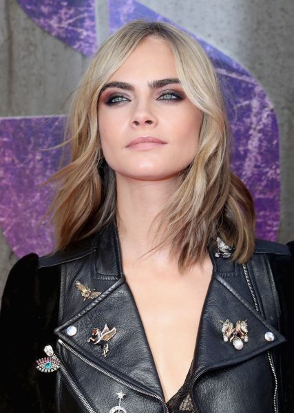 Cara Delevingne Best Beauty Look Suicide Squad European Premiere