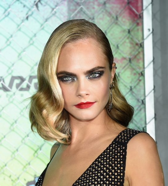 Cara Delevingne Best Beauty Look Suicide Squad World Premiere