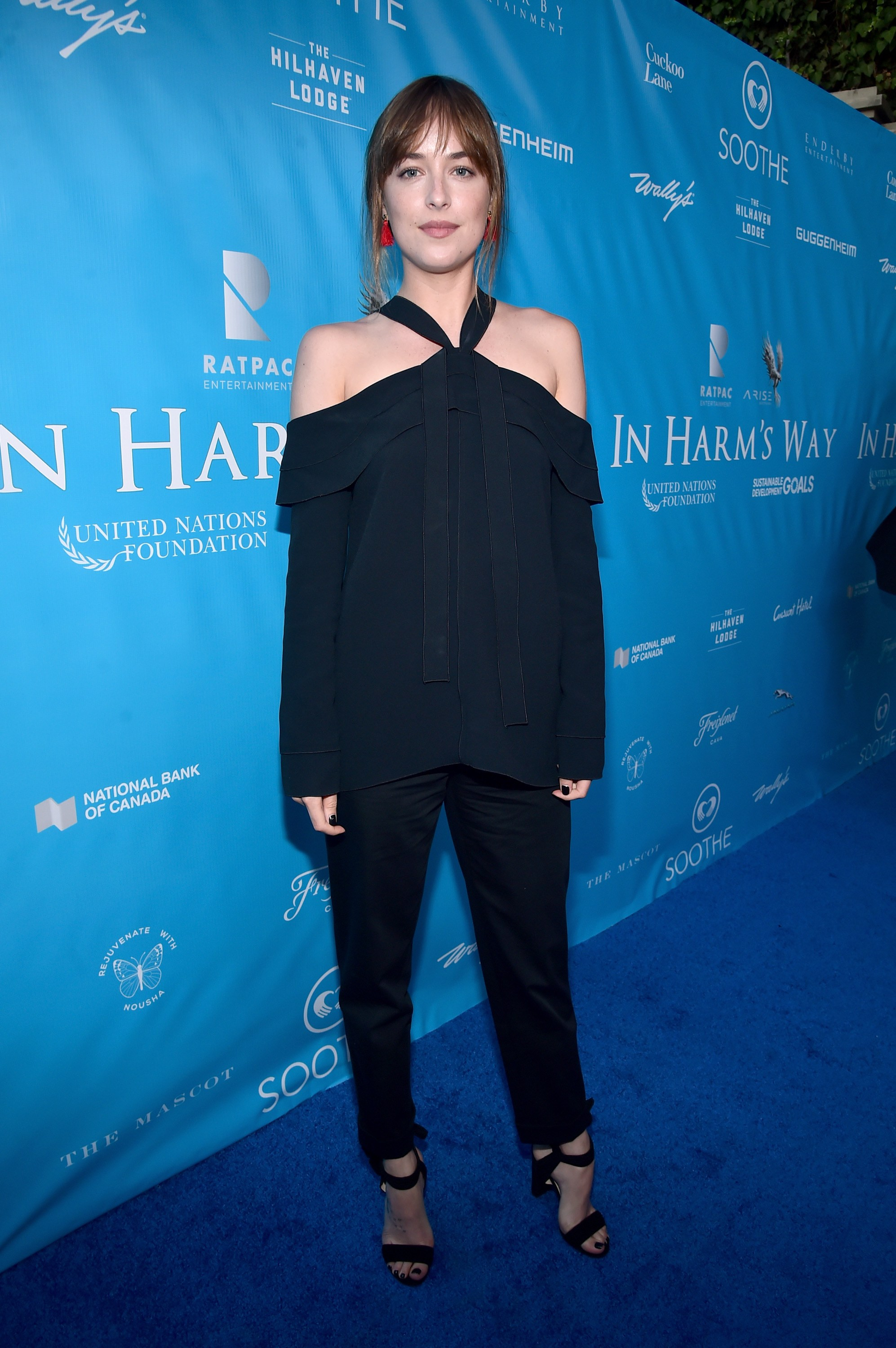 Best Dressed Red Carpet August 15 Dakota Johnson In Harm's Way Event