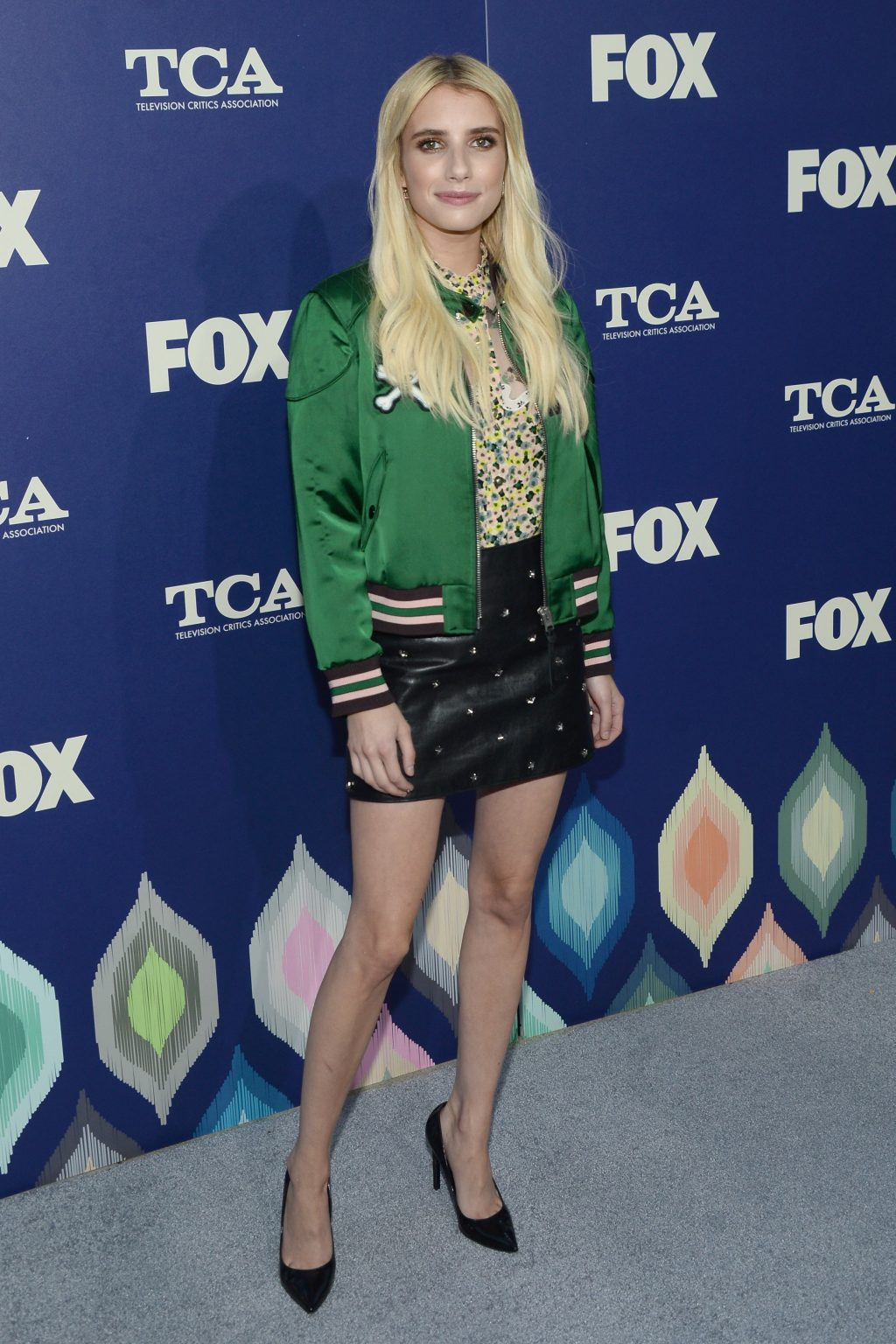 Best Dressed Red Carpet August 15 Emma Roberts Fox Summer Press Tour