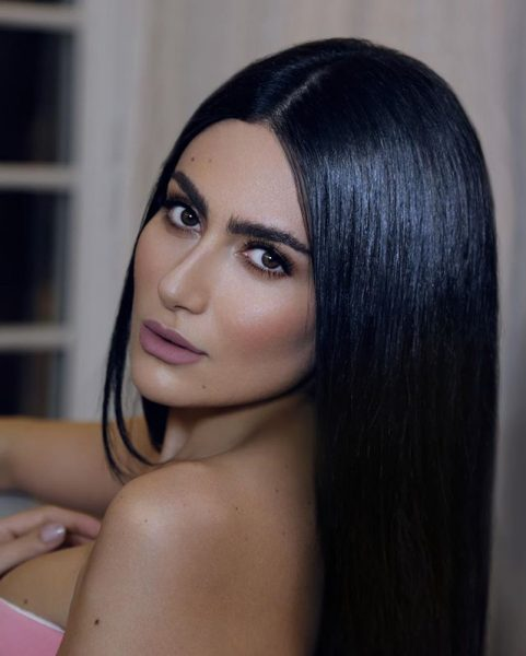 Celebrity Hair Inspiration Diala Makki