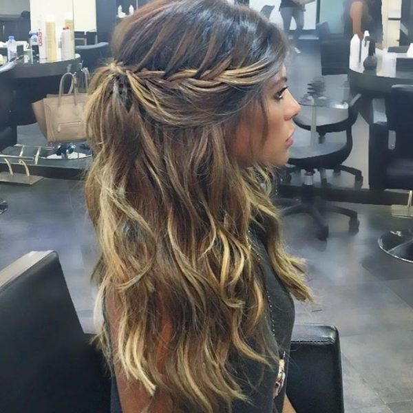 Celebrity Hair Inspiration Fozaza Alanoud Badr