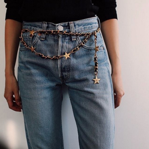 6 Chain Belts to Start Your Week on a Fresh Style Note