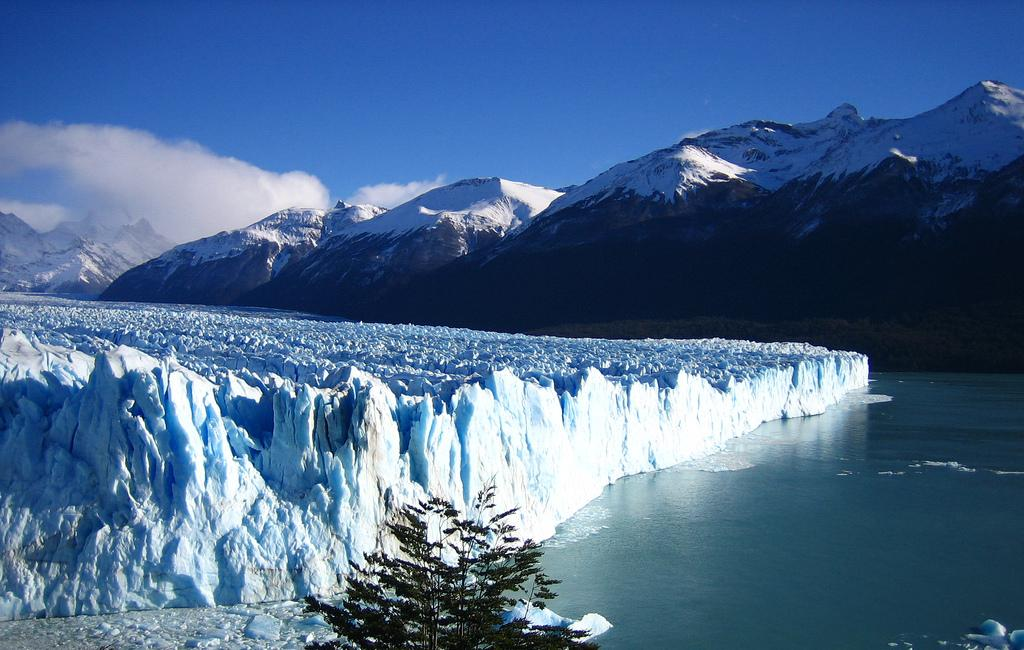 The Los Glaciares National Park