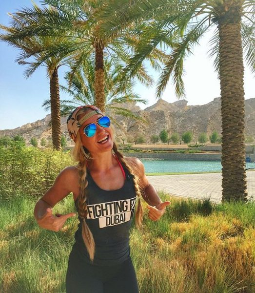 Health Fitness Influencer Nadine Du Toit Dubai