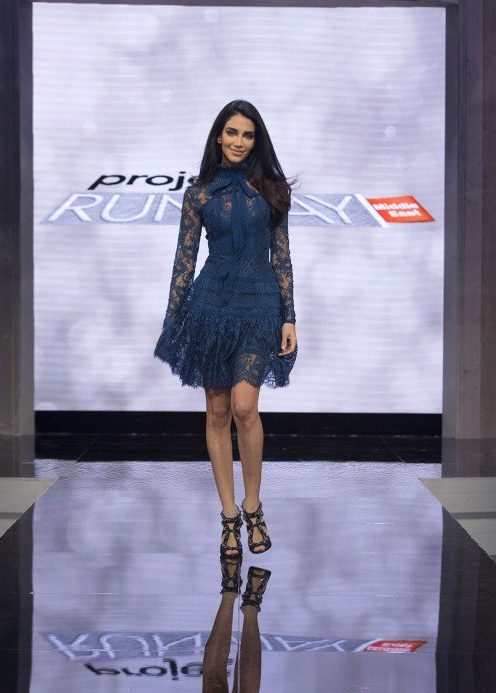 MBC Project Runway Middle East Jessica Kahawaty