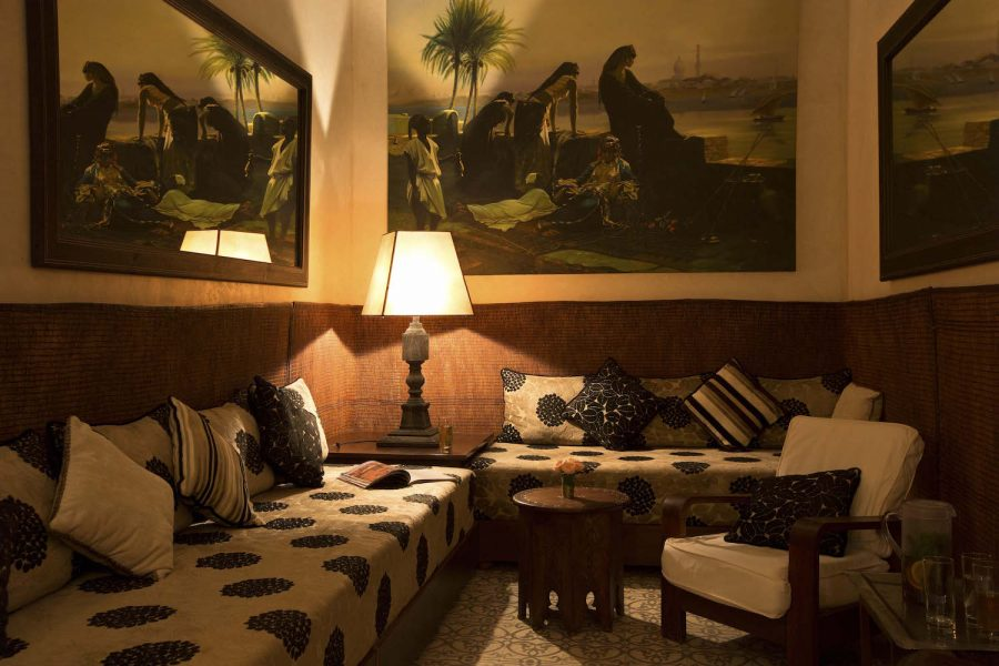 Nuxe Spa Villa Des Oranges Marrakech Relaxation Room