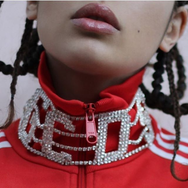 The Cool Girls of Instagram Are Losing It Over This Blingy Choker