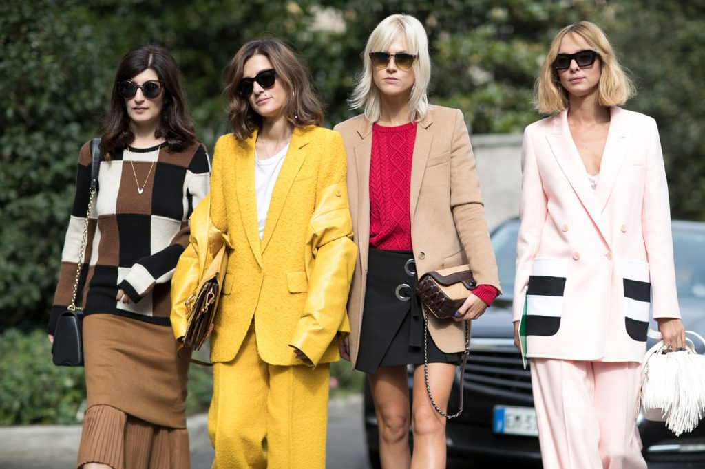 All the Best Street-Style Looks from Milan Fashion Week SS17