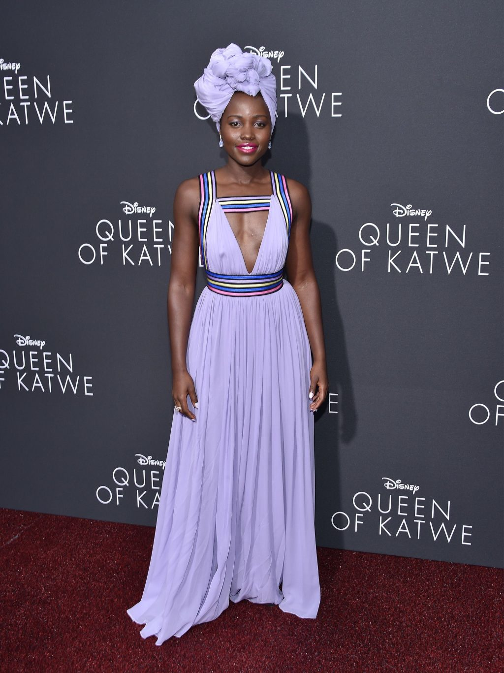 Best Dressed Celebrities September 2016 Queen of Katwe Lupita Nyong'o